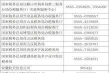 安徽网上税务局